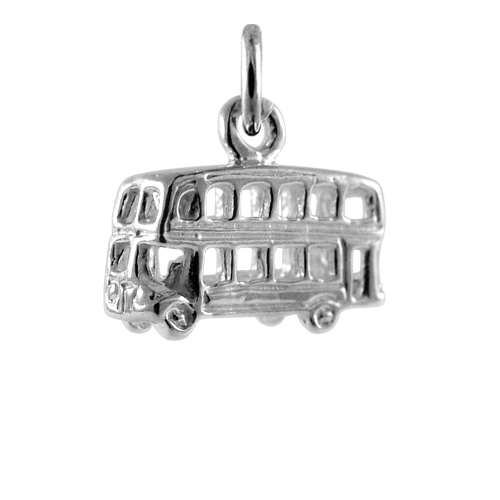 Sterling Silver Double Decker Charm
