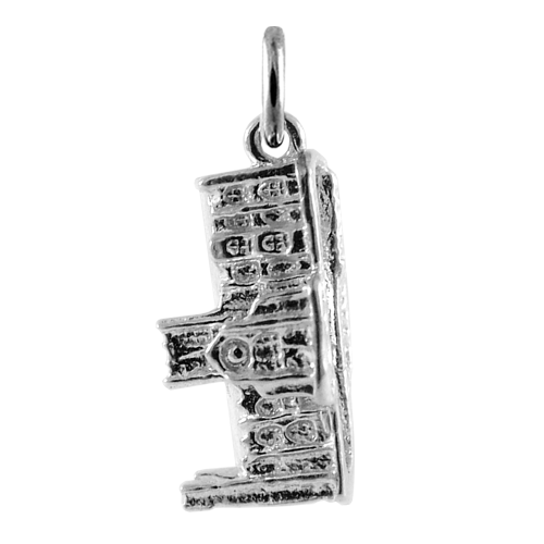 Sterling Silver York Minster Charm