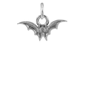 Sterling Silver Tiny Bat Charm