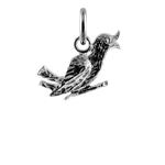 Sterling Silver Love Bird Charm