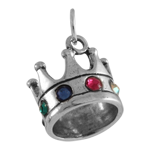 Jewelled Crown Charm