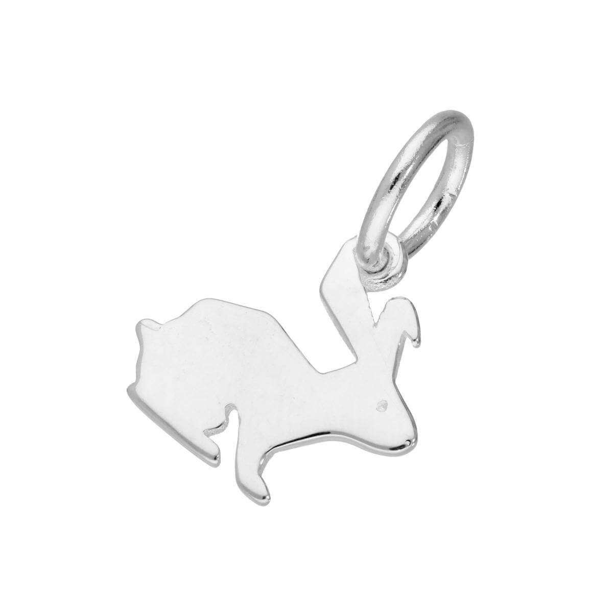 Sterling Silver Hare Charm