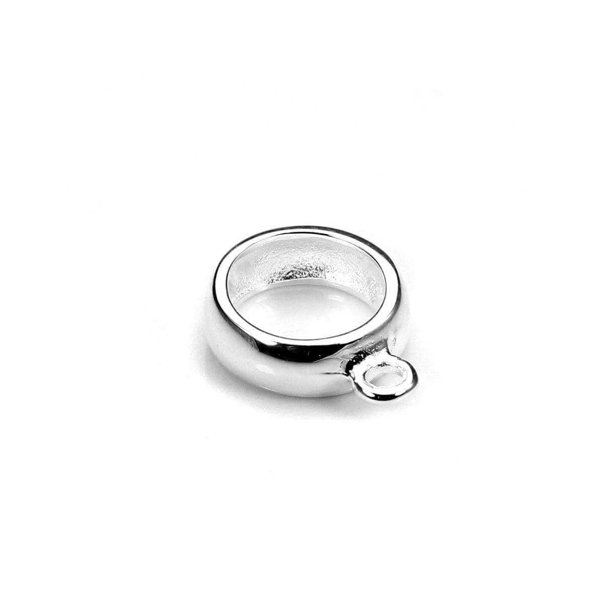 Sterling Silver 6.5mm Hanger Bead Charm