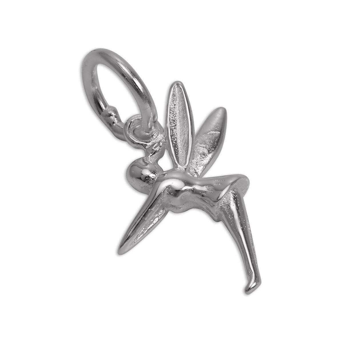 Sterling Silver Winged Fairy Charm