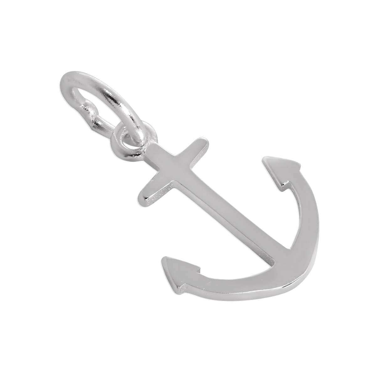 Sterling Silver Ships Anchor Charm