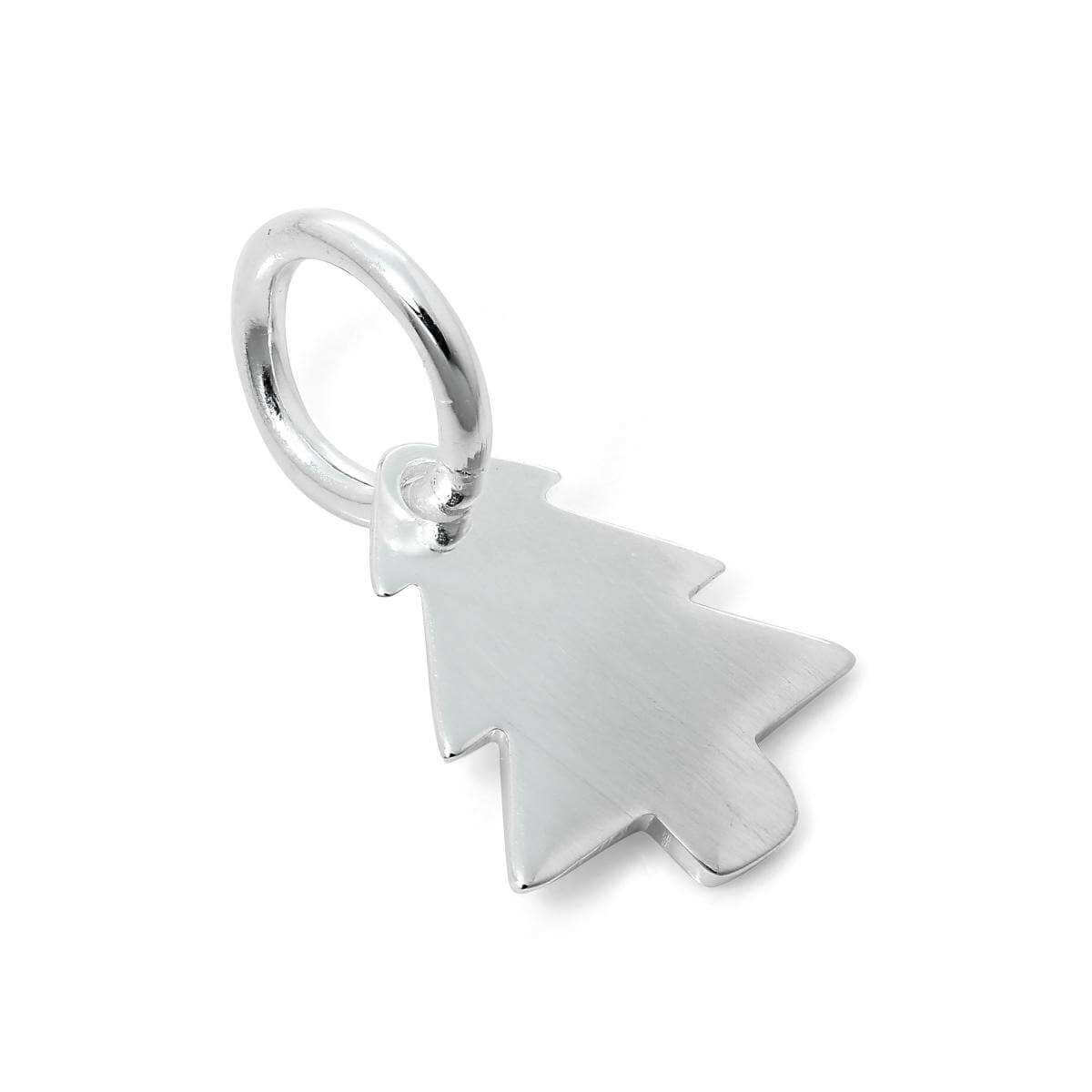 Sterling Silver Christmas Tree Charm