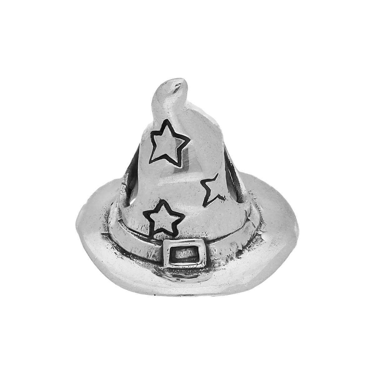 Sterling Silver Wizard Hat Bead Charm