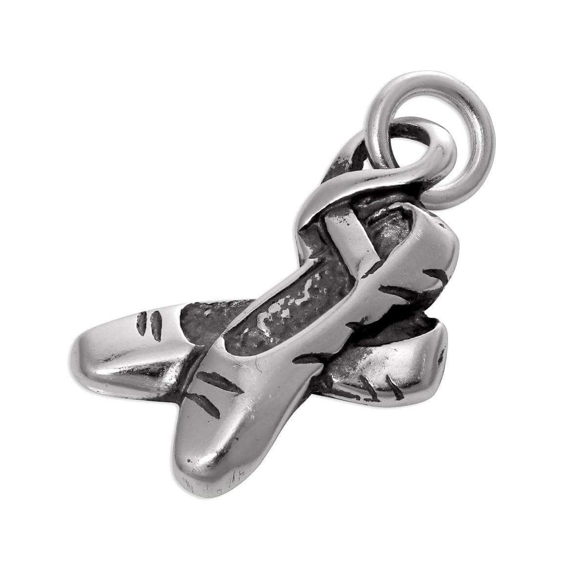 Sterling Silver Ballet Shoes Charm