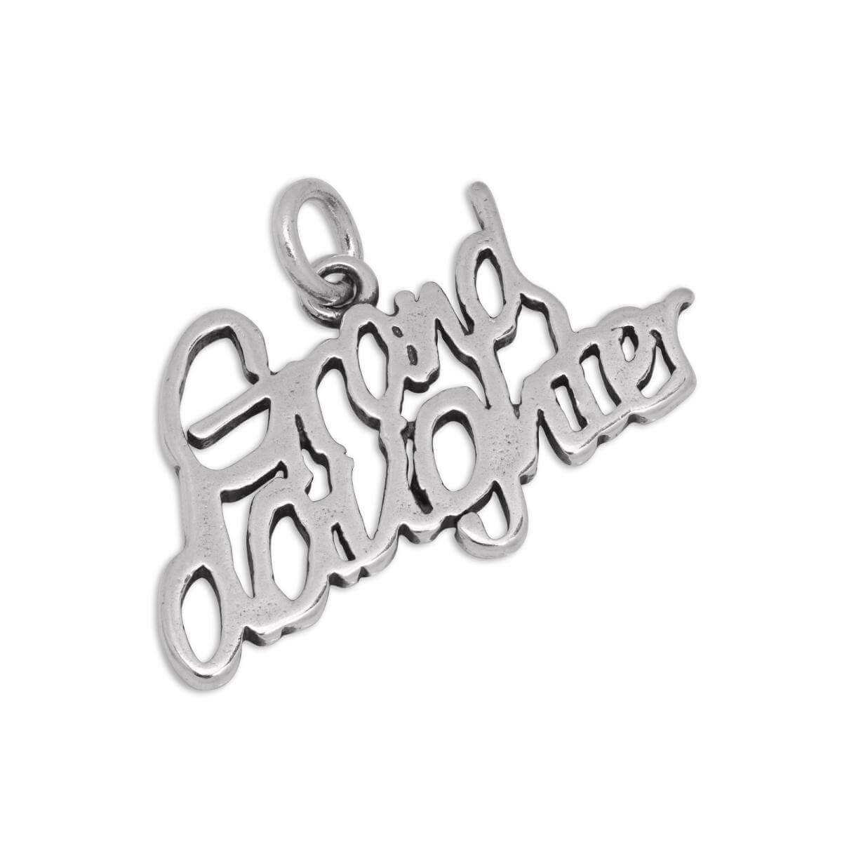 Sterling Silver Granddaughter Charm
