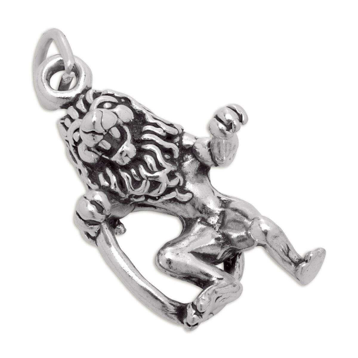 Sterling Silver Leo Lion Charm