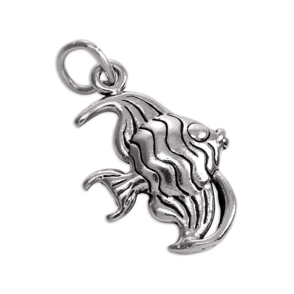 Sterling Silver Angelfish Charm