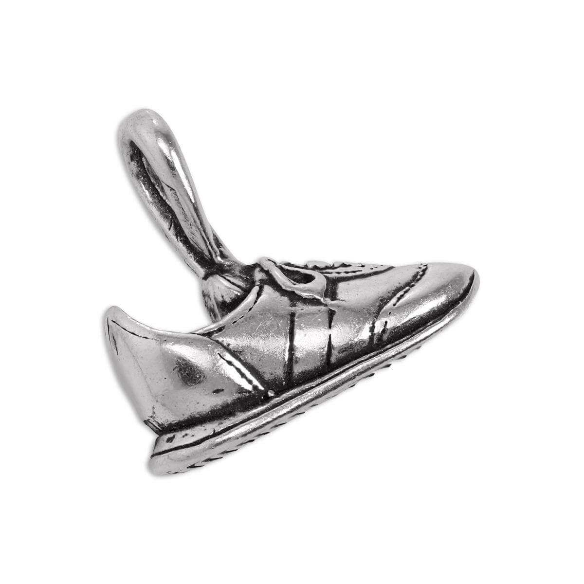 Sterling Silver Trainer Shoe Charm