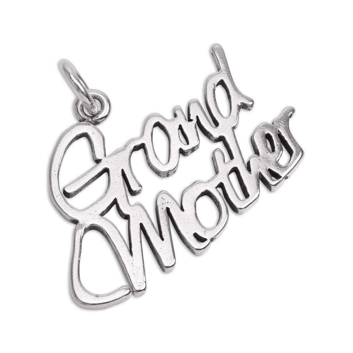 Sterling Silver Grandmother Charm