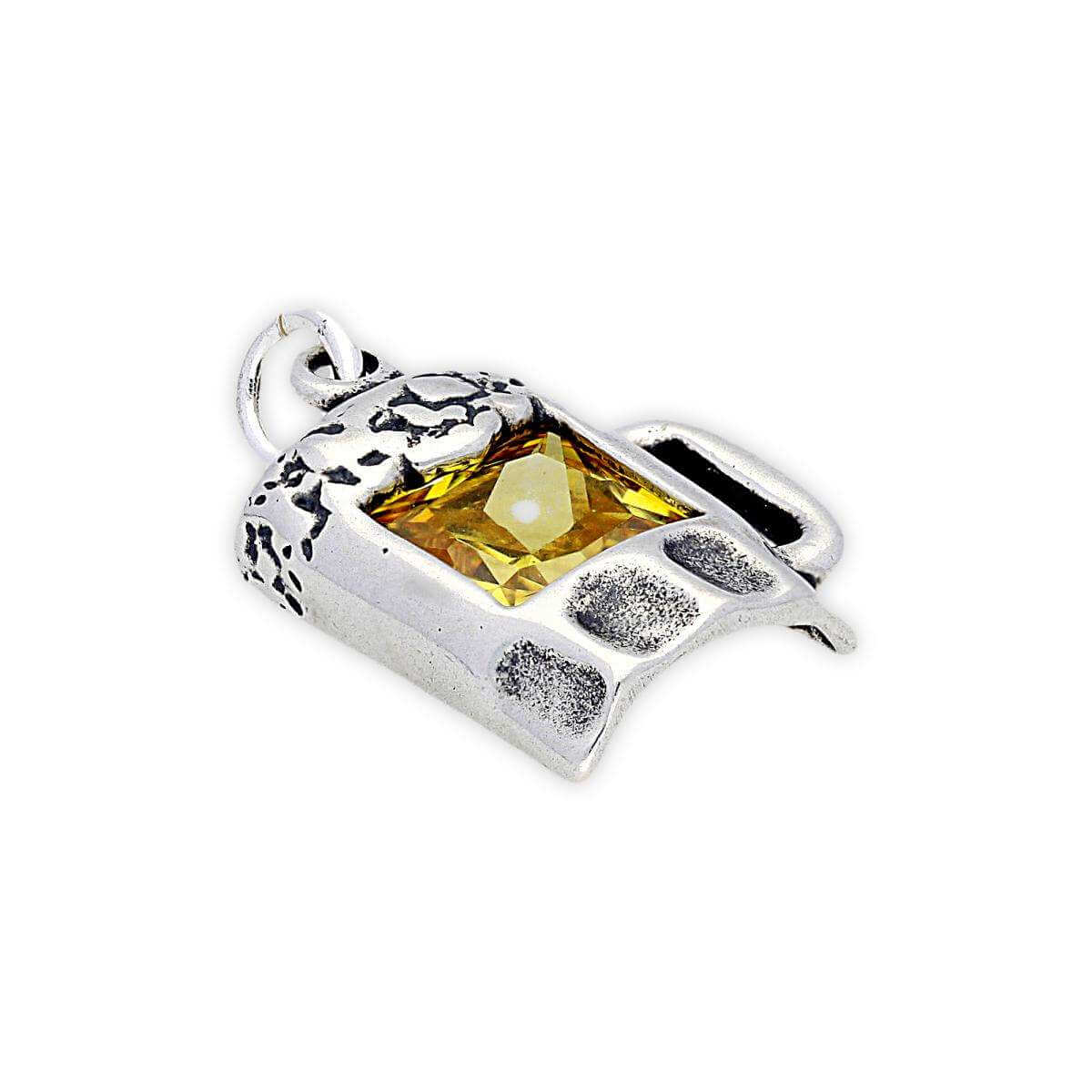 Sterling Silver Pint of Beer Charm