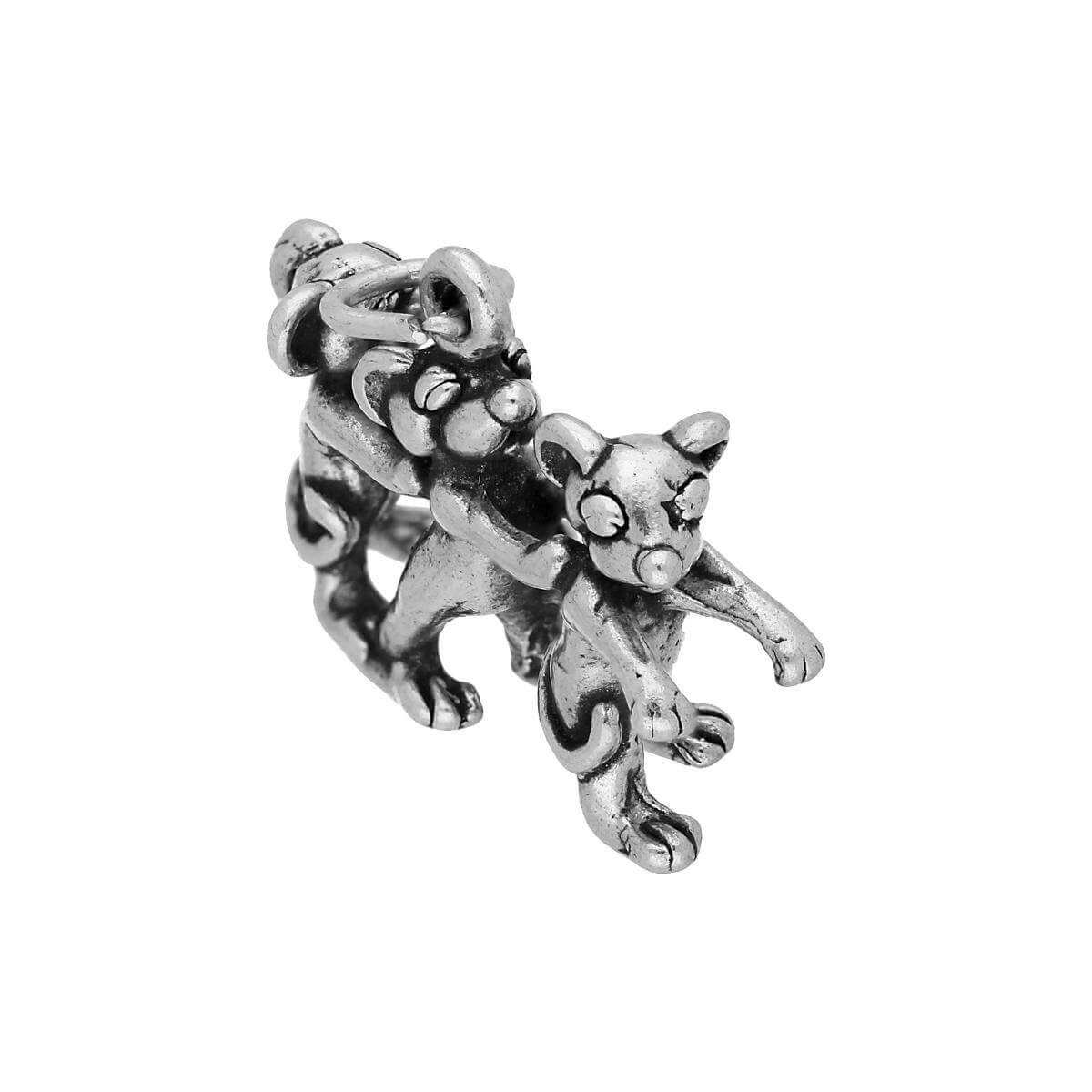 Sterling Silver Three Blind Mice Charm