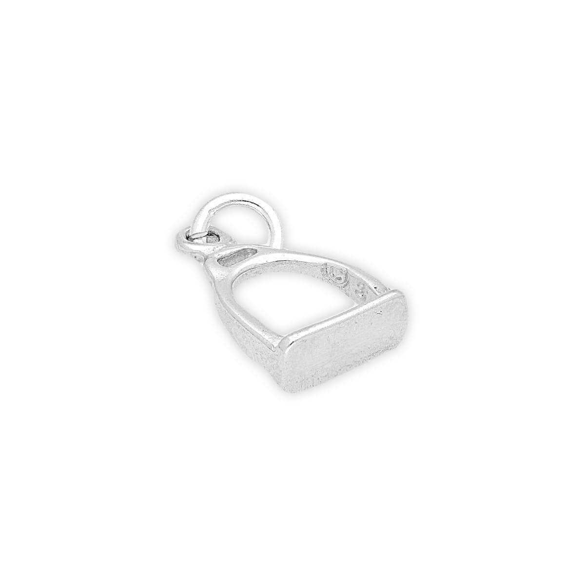 Sterling Silver Stirrup Charm
