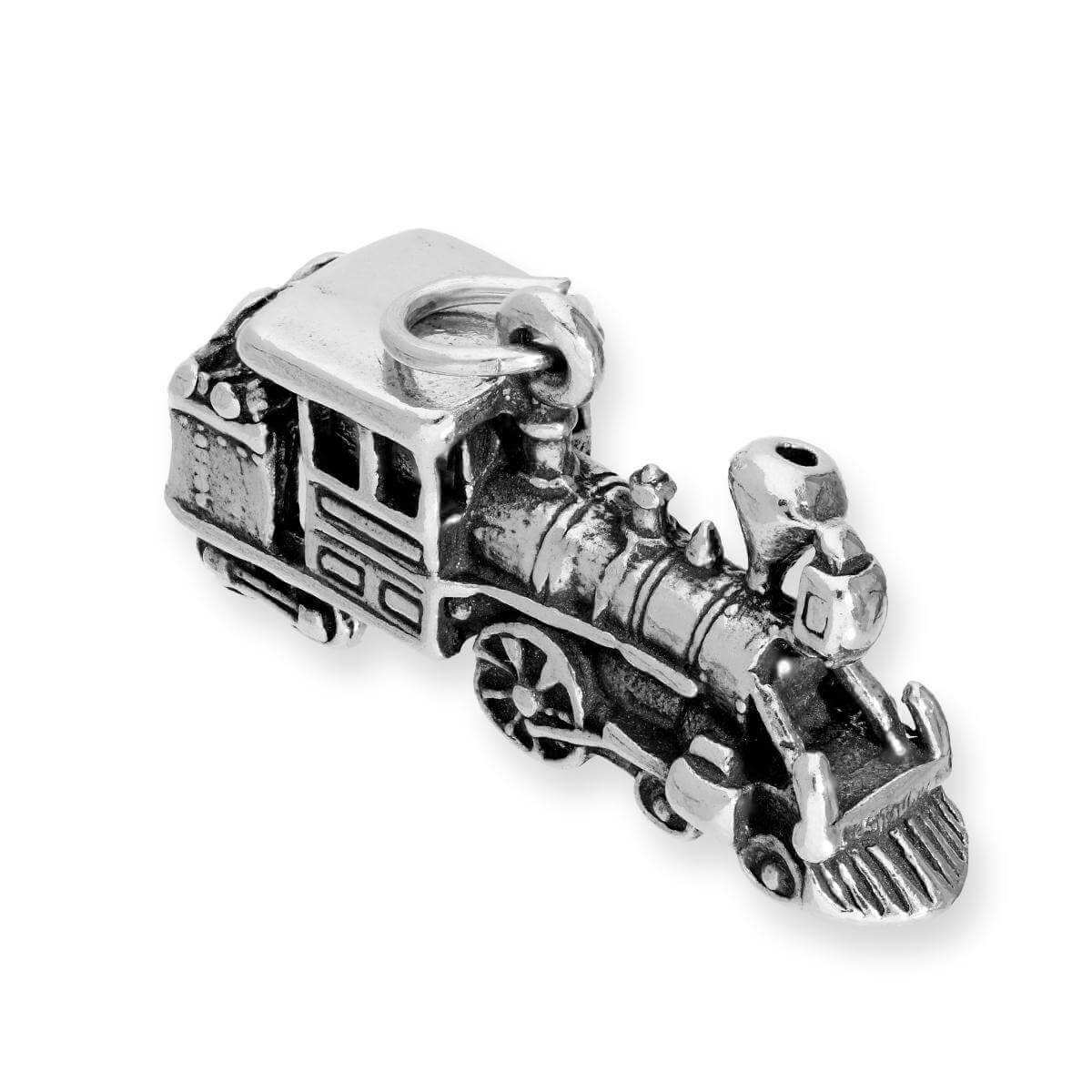 Sterling Silver Locomotive Charm