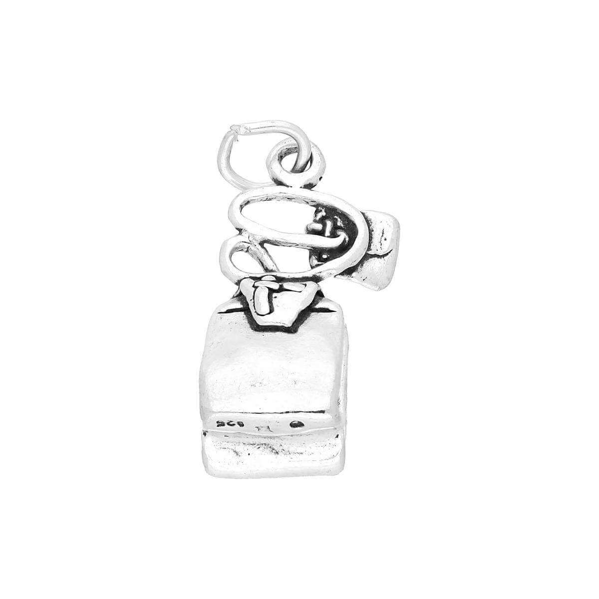 Sterling Silver Tea Bag Charm