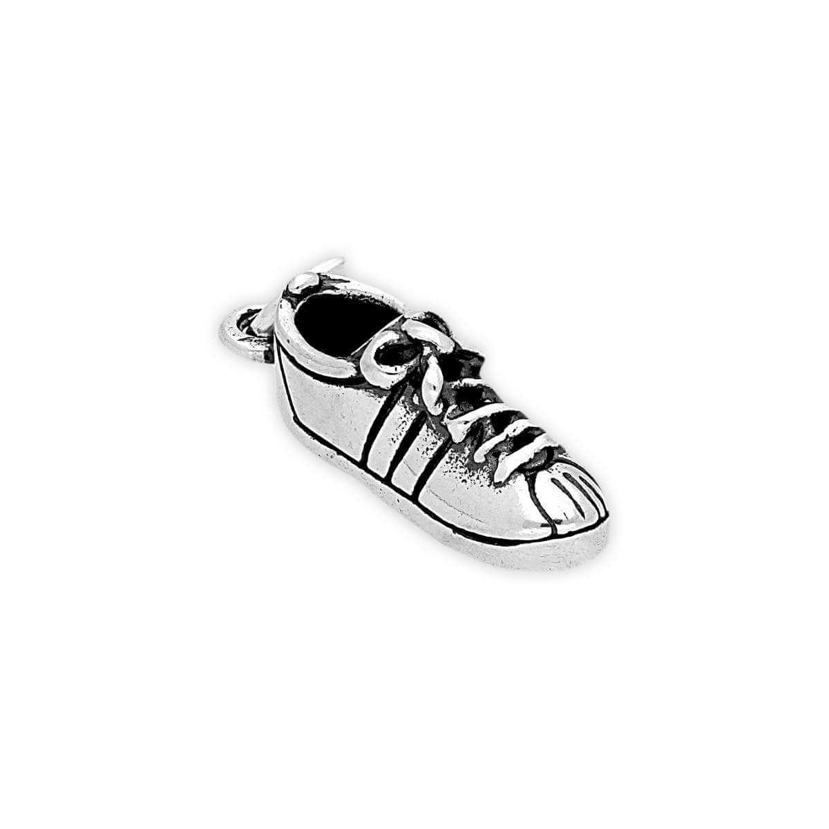 Sterling Silver Running Shoe Charm