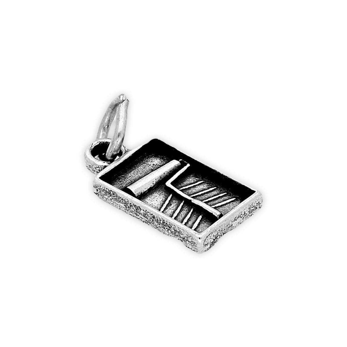 Sterling Silver Paint Roller and Brush Charm