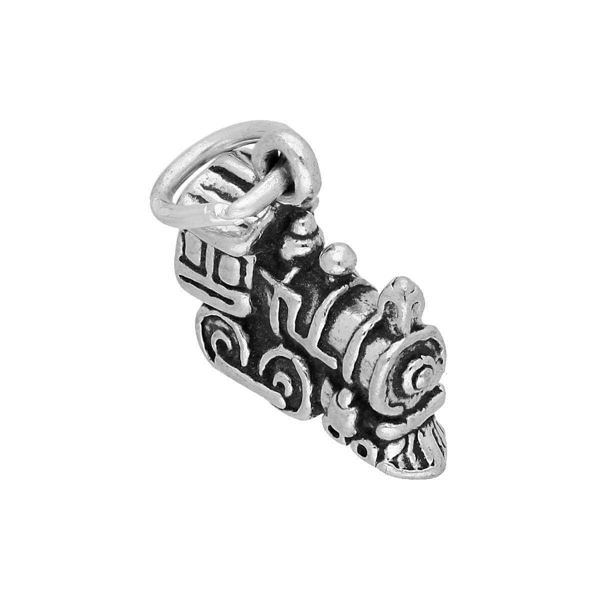 Sterling Silver Steam Train Charm