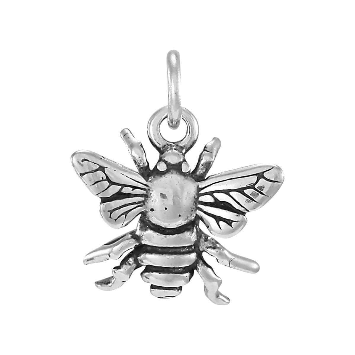 Sterling Silver Bumble Bee Charm