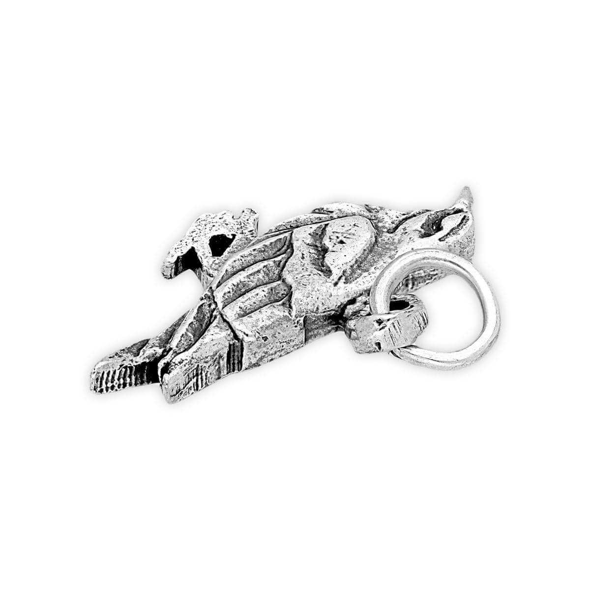 Sterling Silver Raven Charm