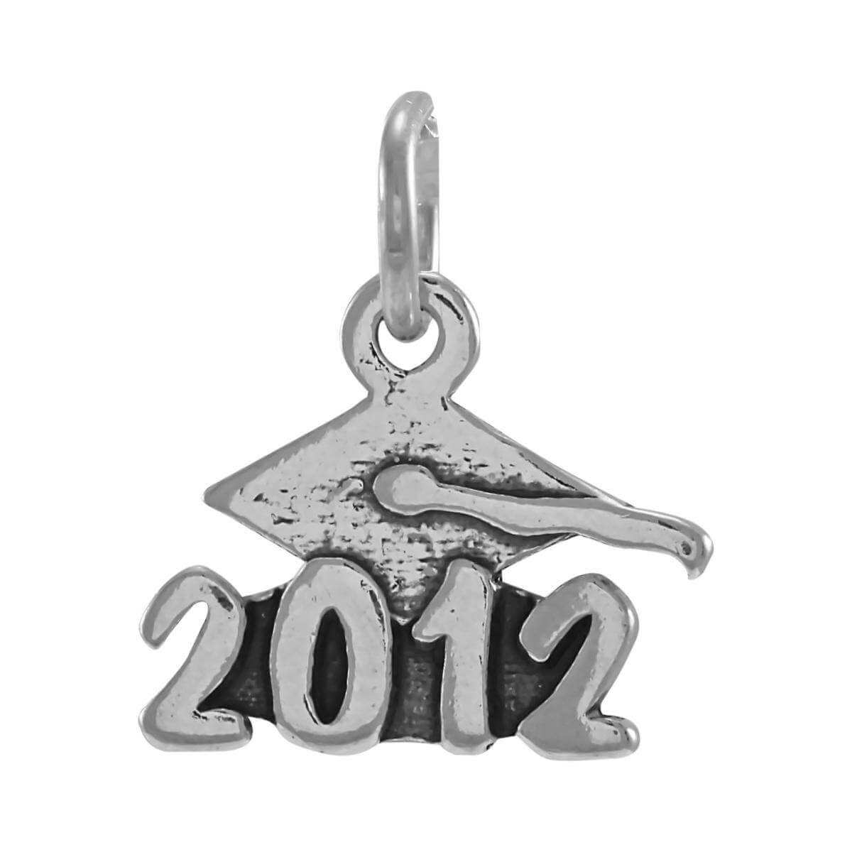 Sterling Silver Graduation 2012 Charm