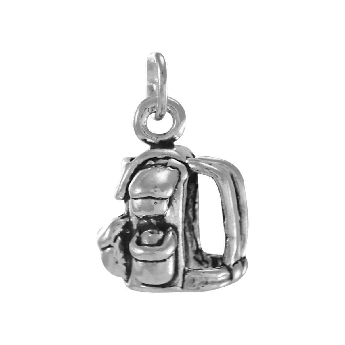 Sterling Silver Rucksack Charm