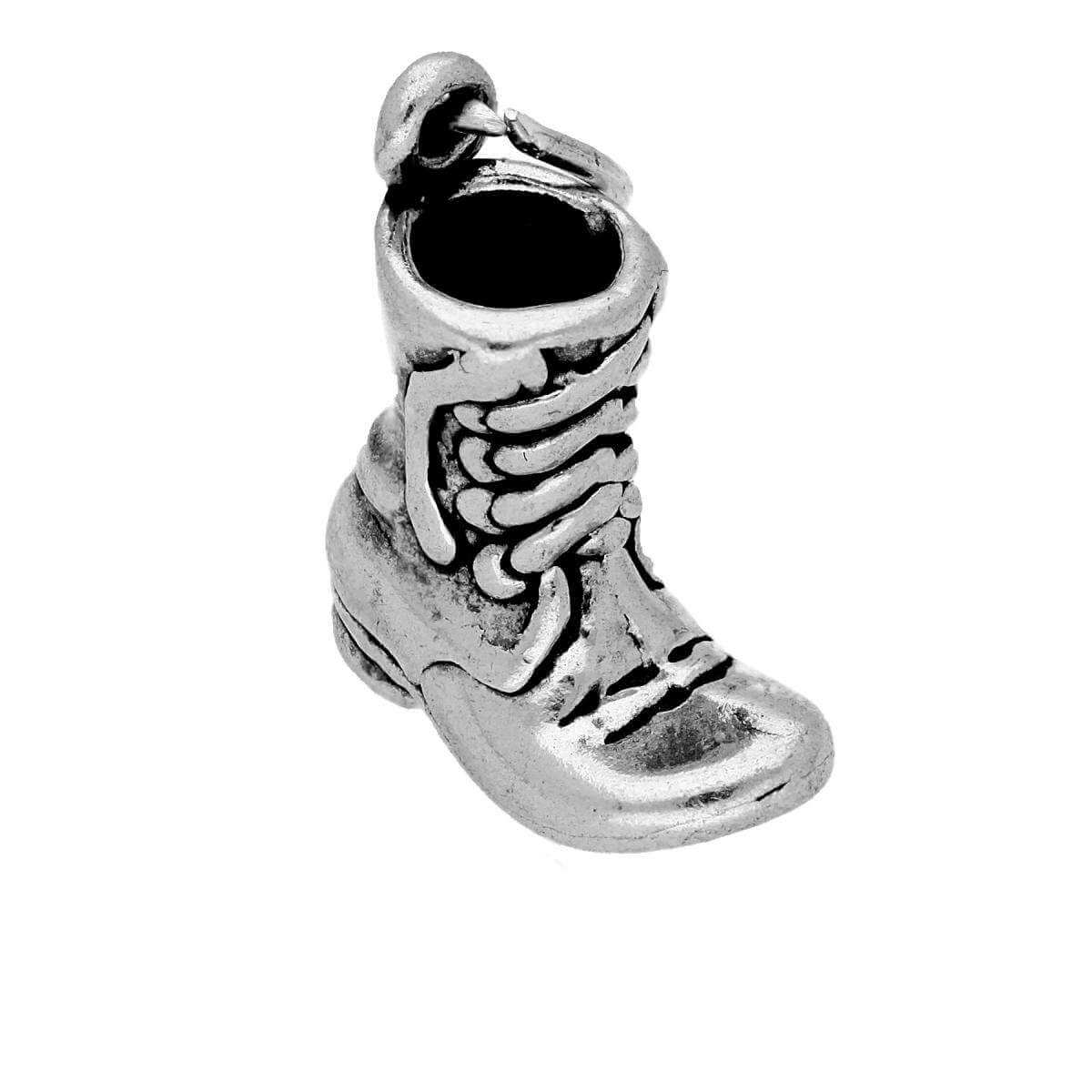 Sterling Silver Boot Charm