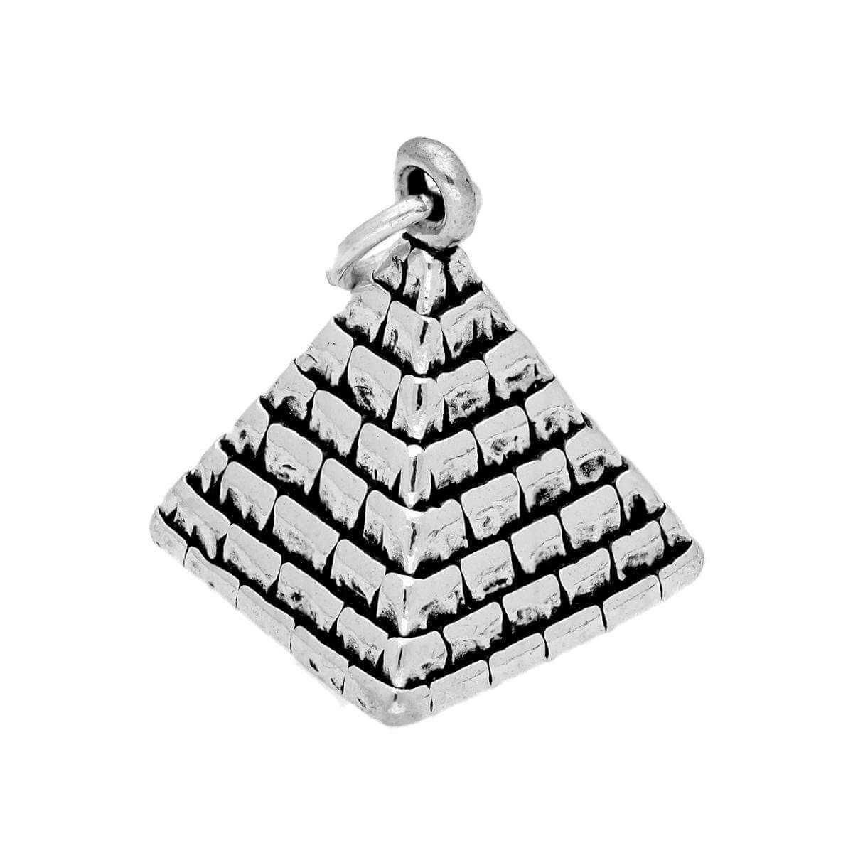 Sterling Silver Pyramid Charm