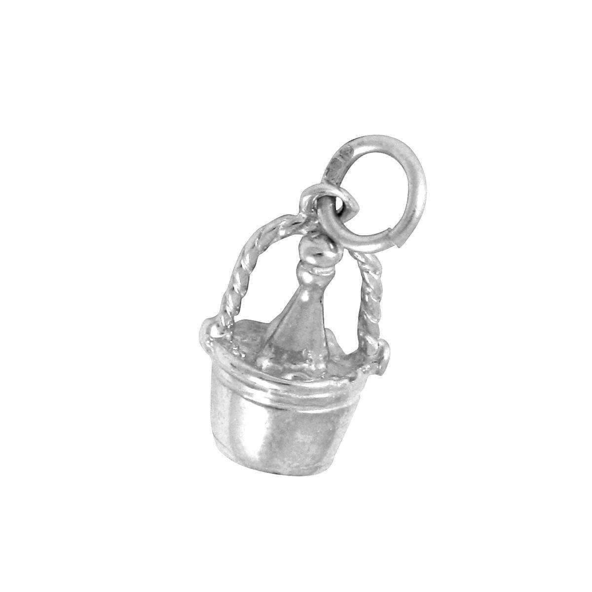 Sterling Silver Champagne Bottle & Bucket Charm