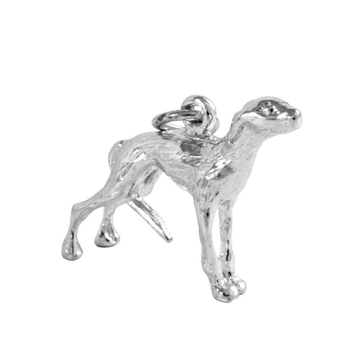 Sterling Silver Whippet Charm