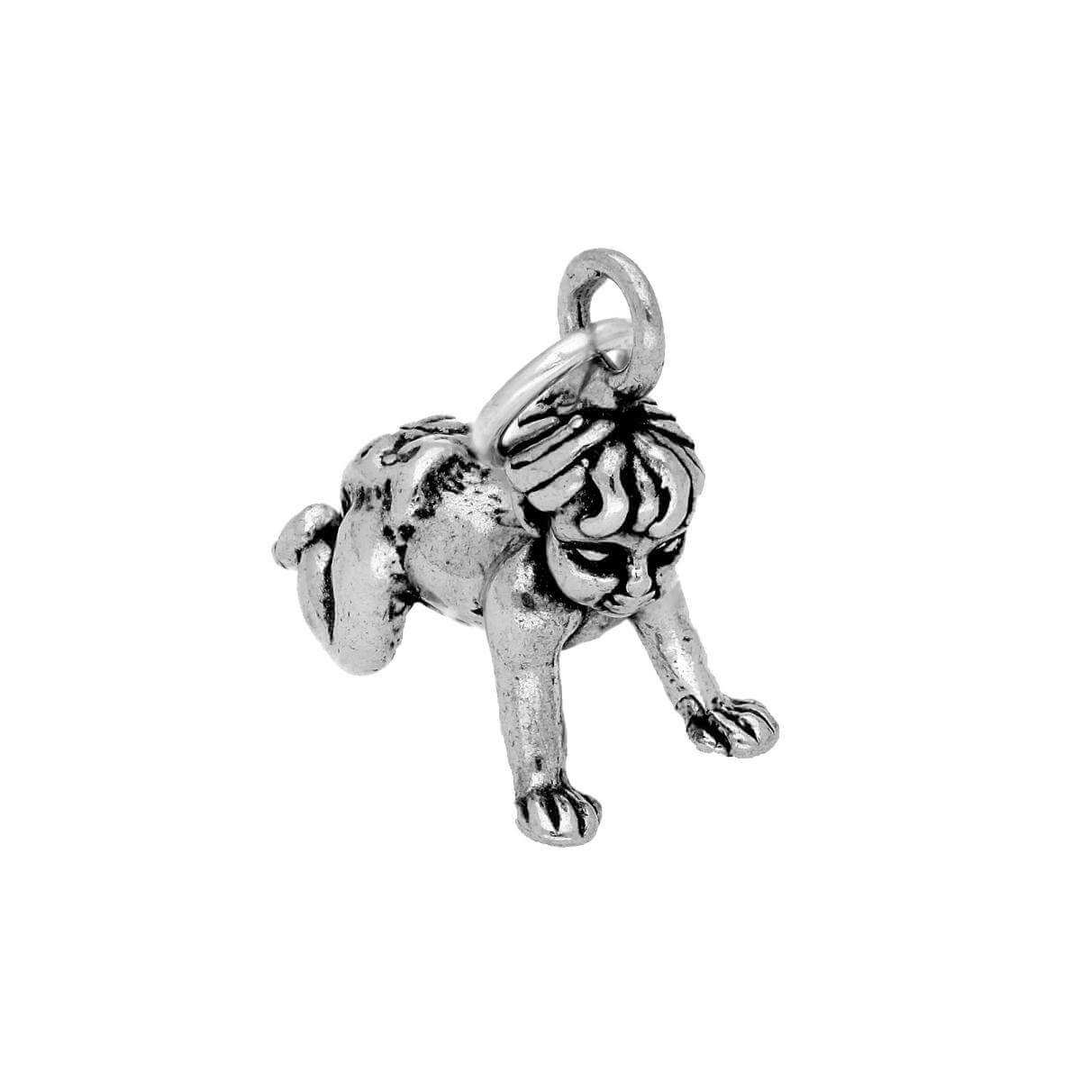 Sterling Silver Crawling Baby Charm