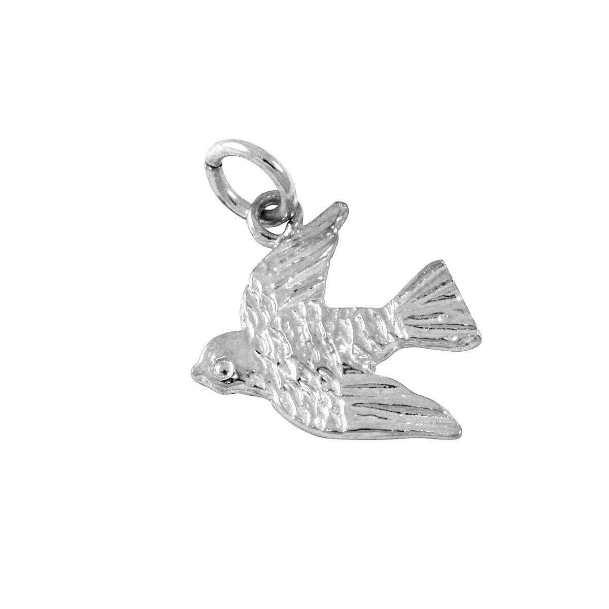 Sterling Silver Swift Charm