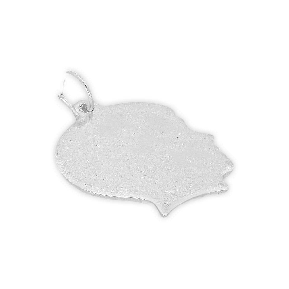 Sterling Silver Boy Silhouette Charm