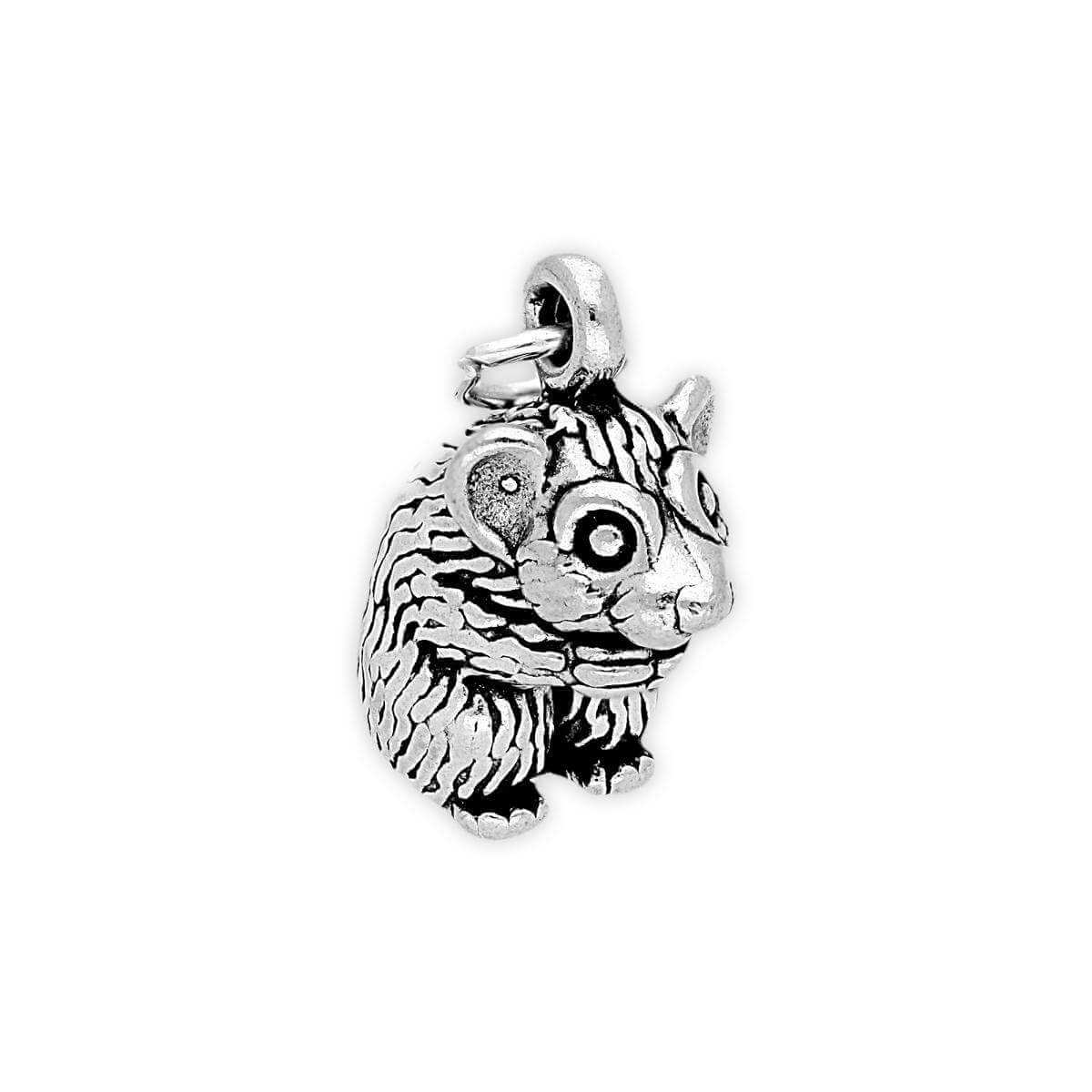 Sterling Silver Hamster Charm