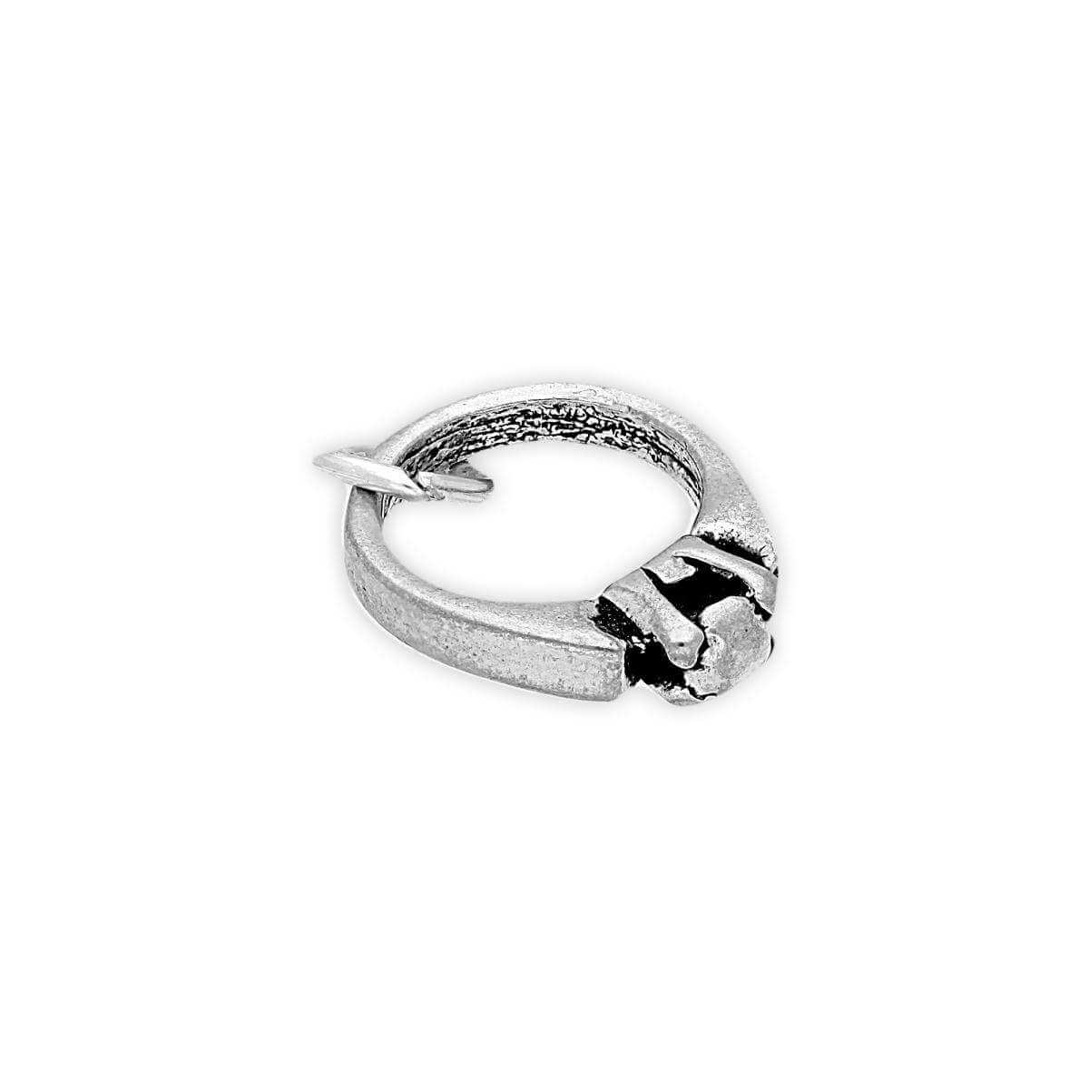 Sterling Silver Diamond Ring Charm