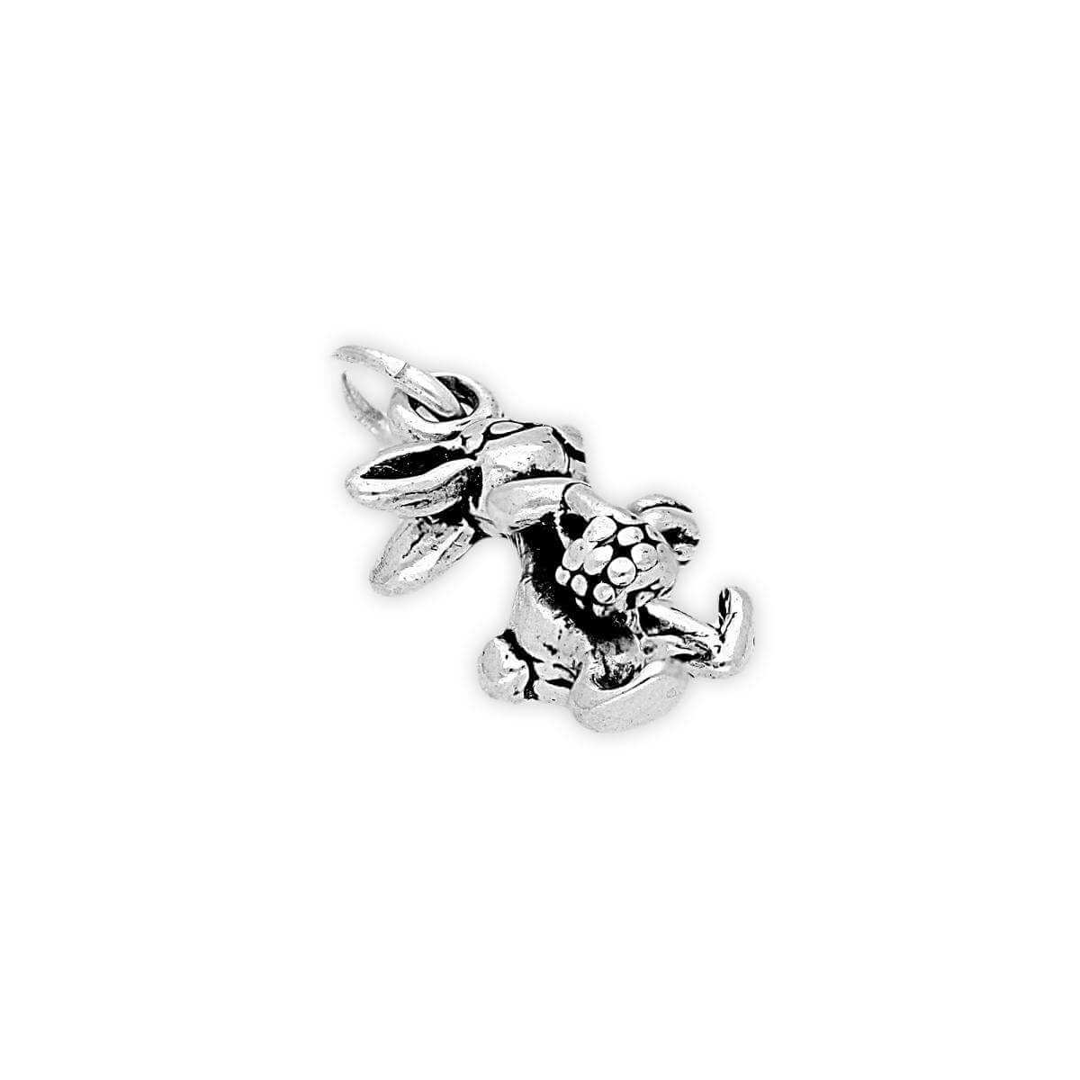 Sterling Silver Easter Bunny Charm