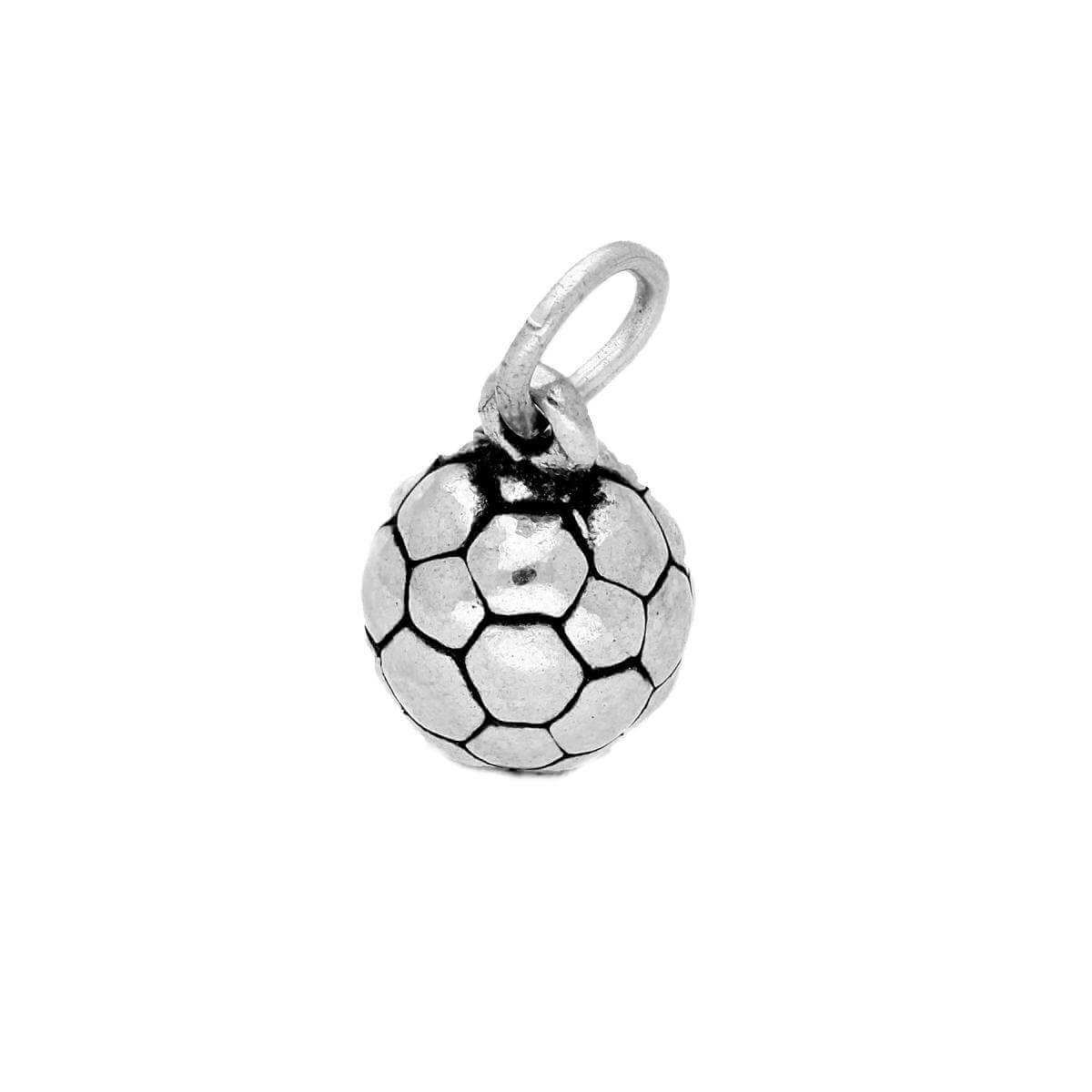 Sterling Silver Football Charm