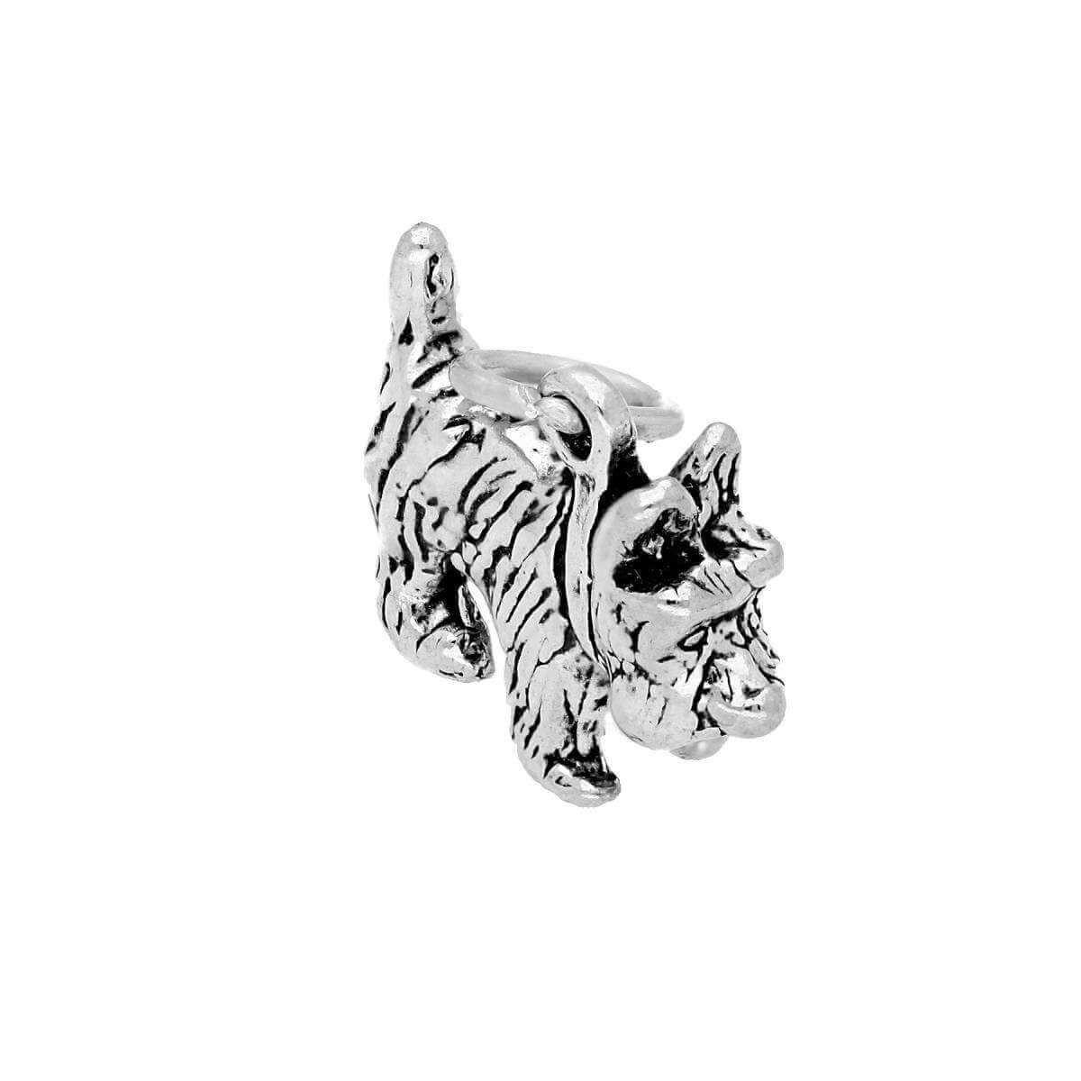 Sterling Silver Scottie Dog Charm