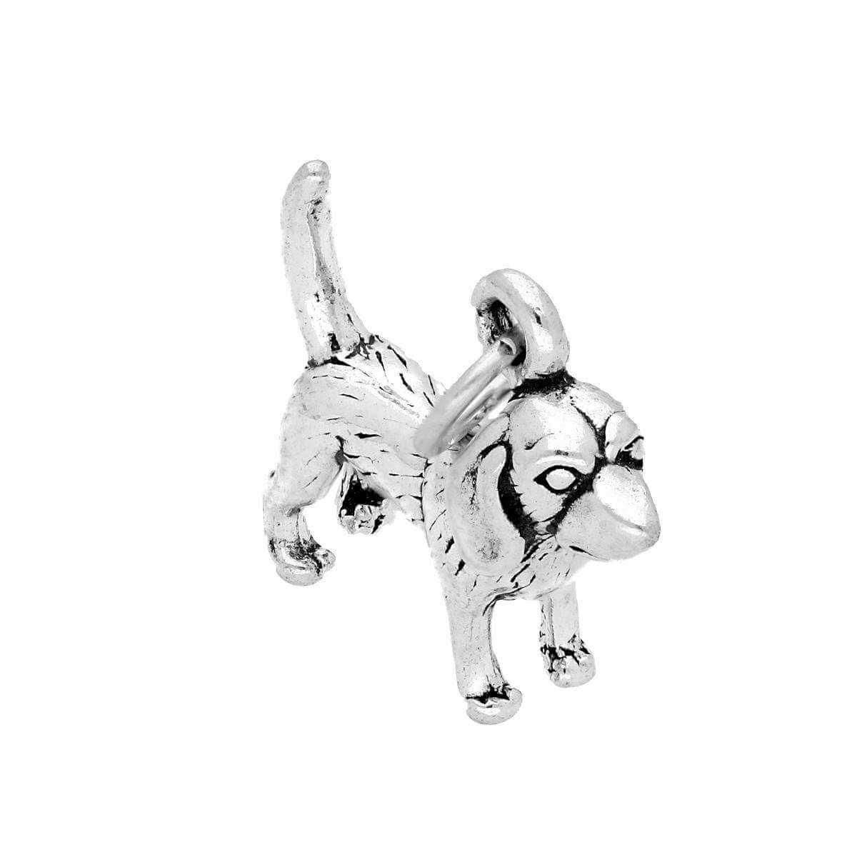 Sterling Silver Beagle Dog Charm