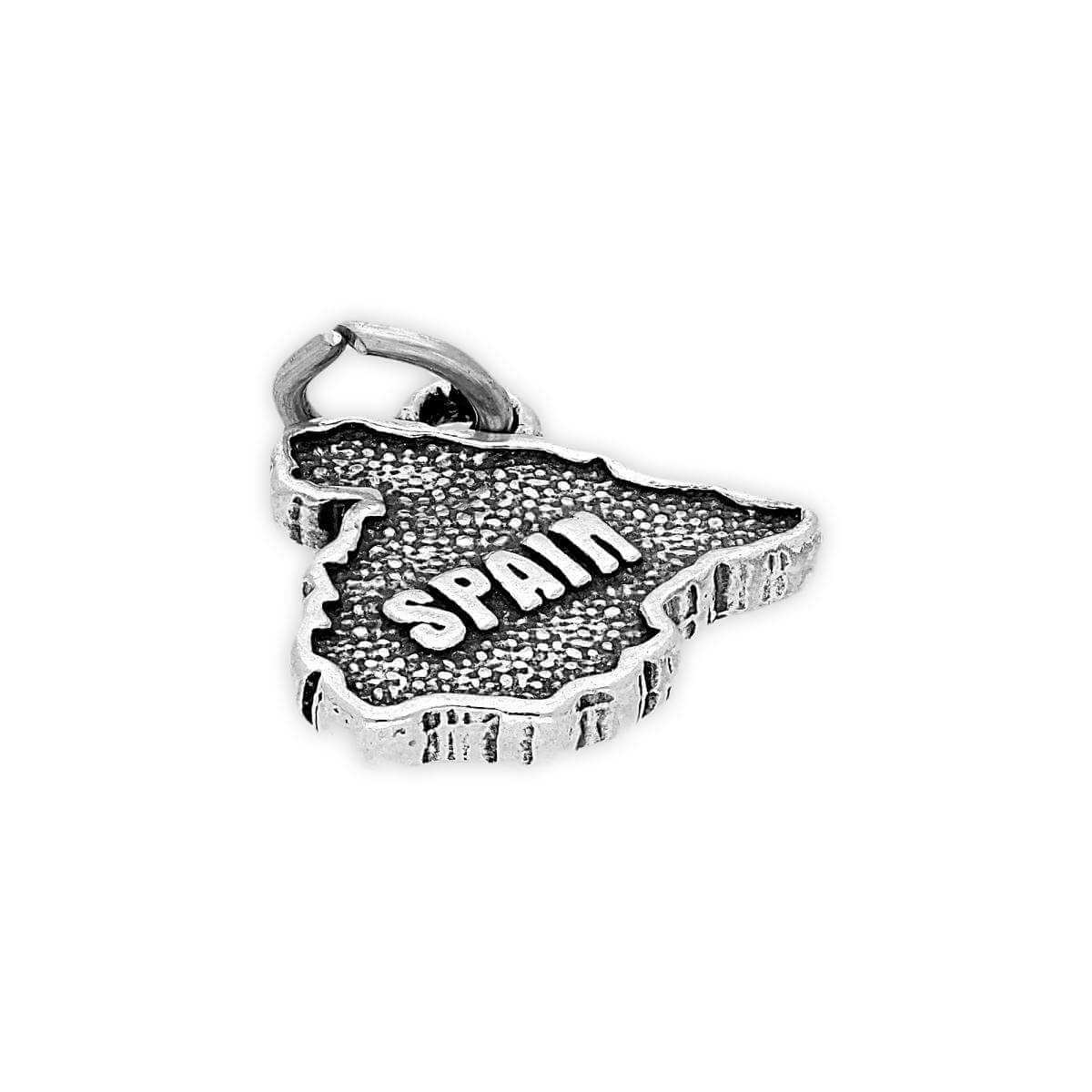 Sterling Silver Spain Charm
