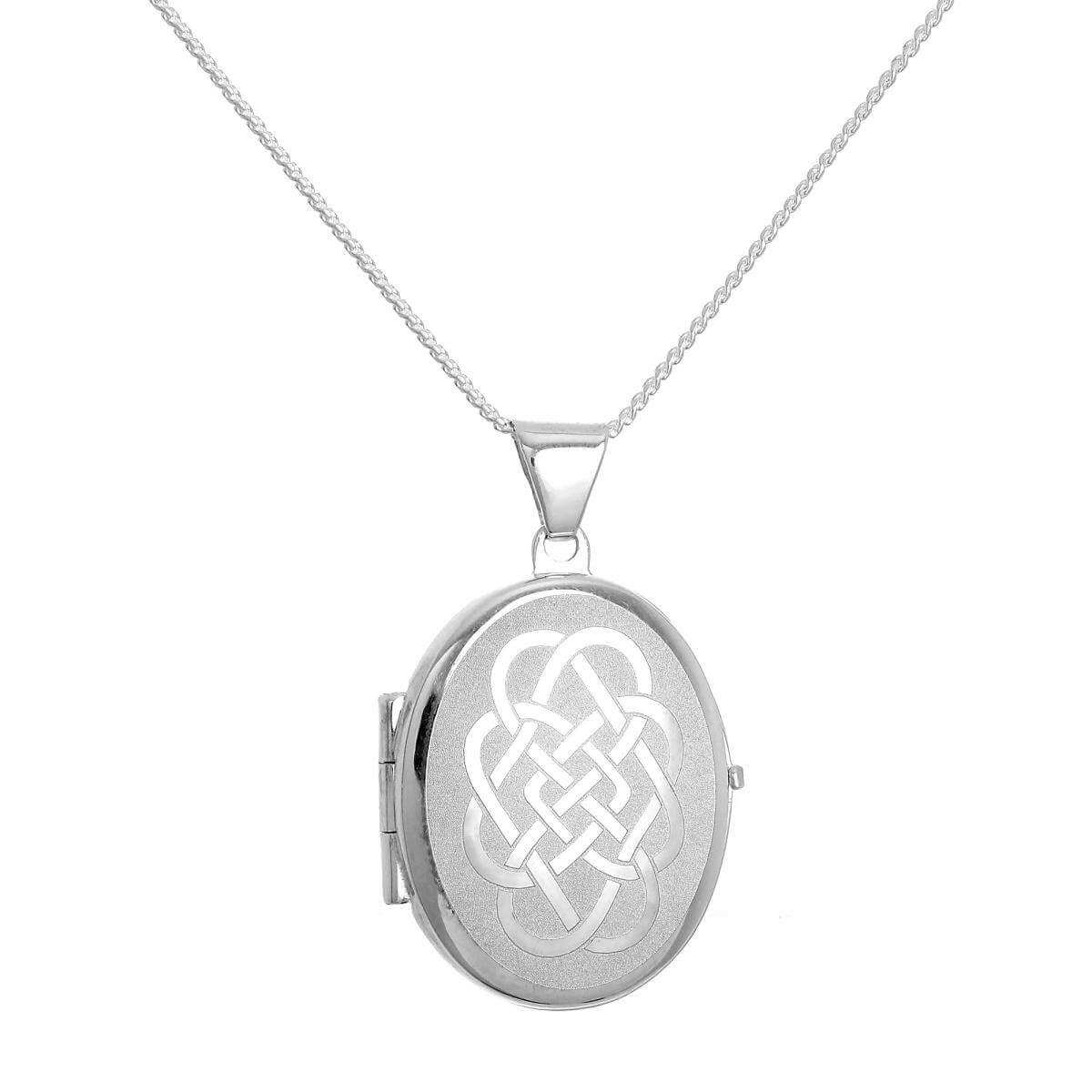 celtic shipping free sterling silver heart in hammy woot necklace usa products knot lockets