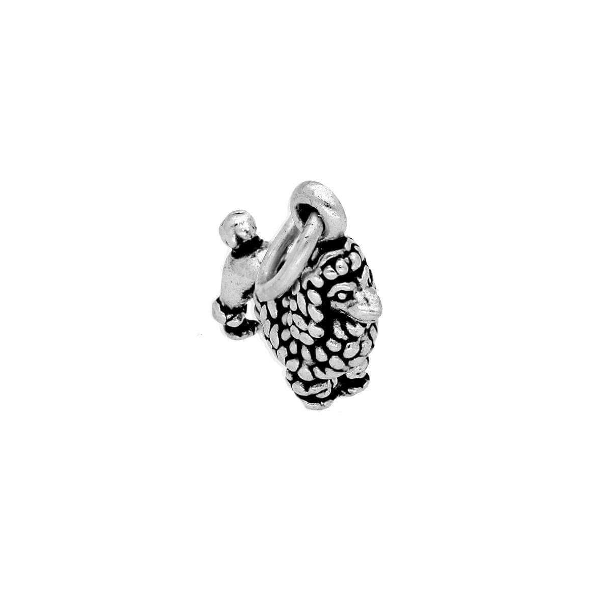 Sterling Silver Small Poodle Charm