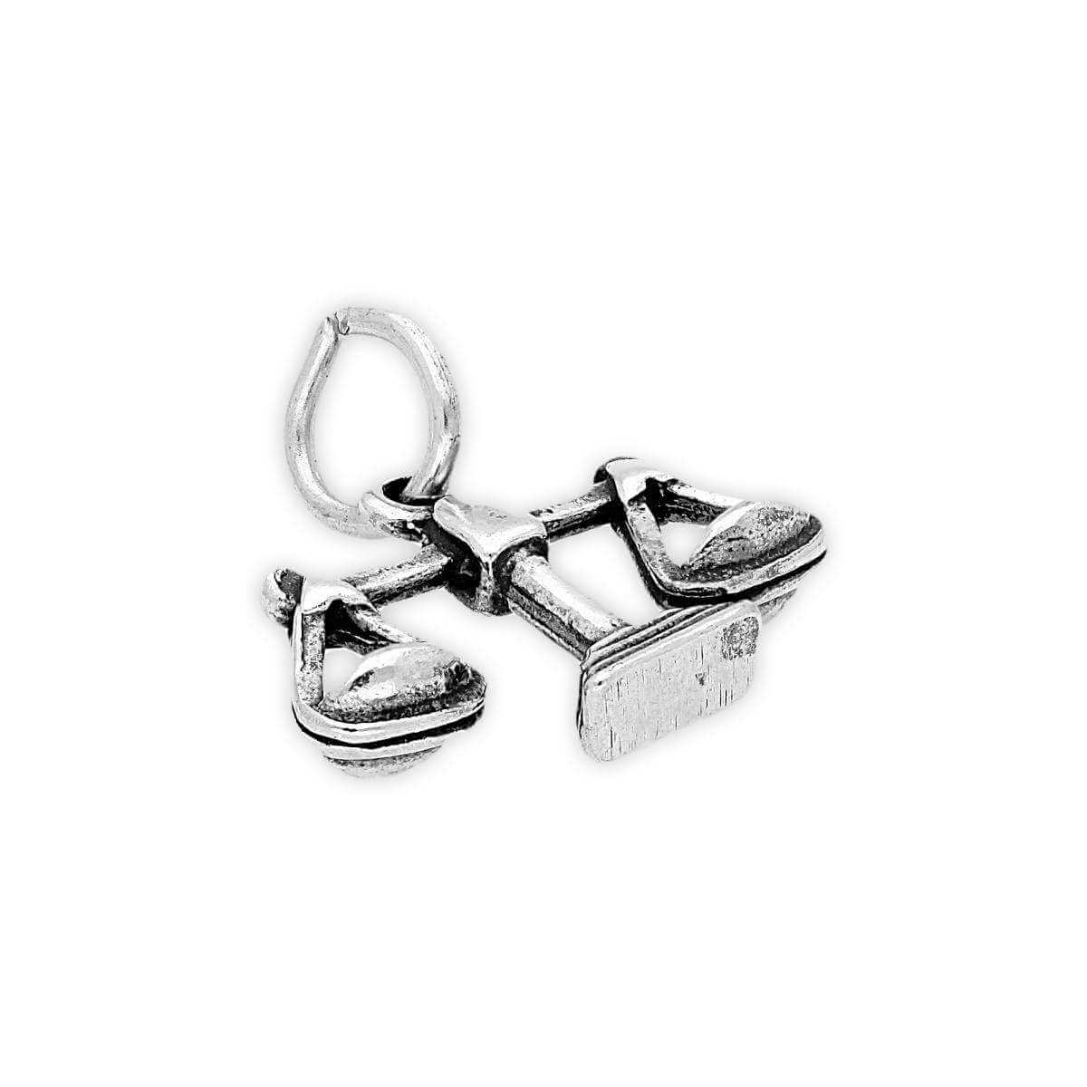 Sterling Silver Libra Scales Charm