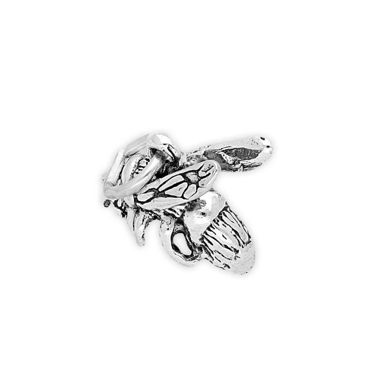 Sterling Silver Wasp Charm