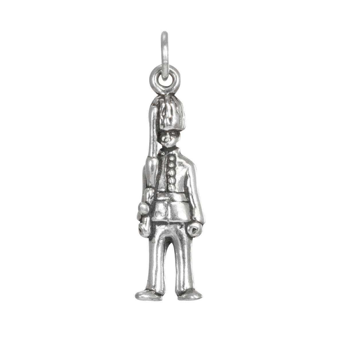 Sterling Silver Queen's Guard Charm