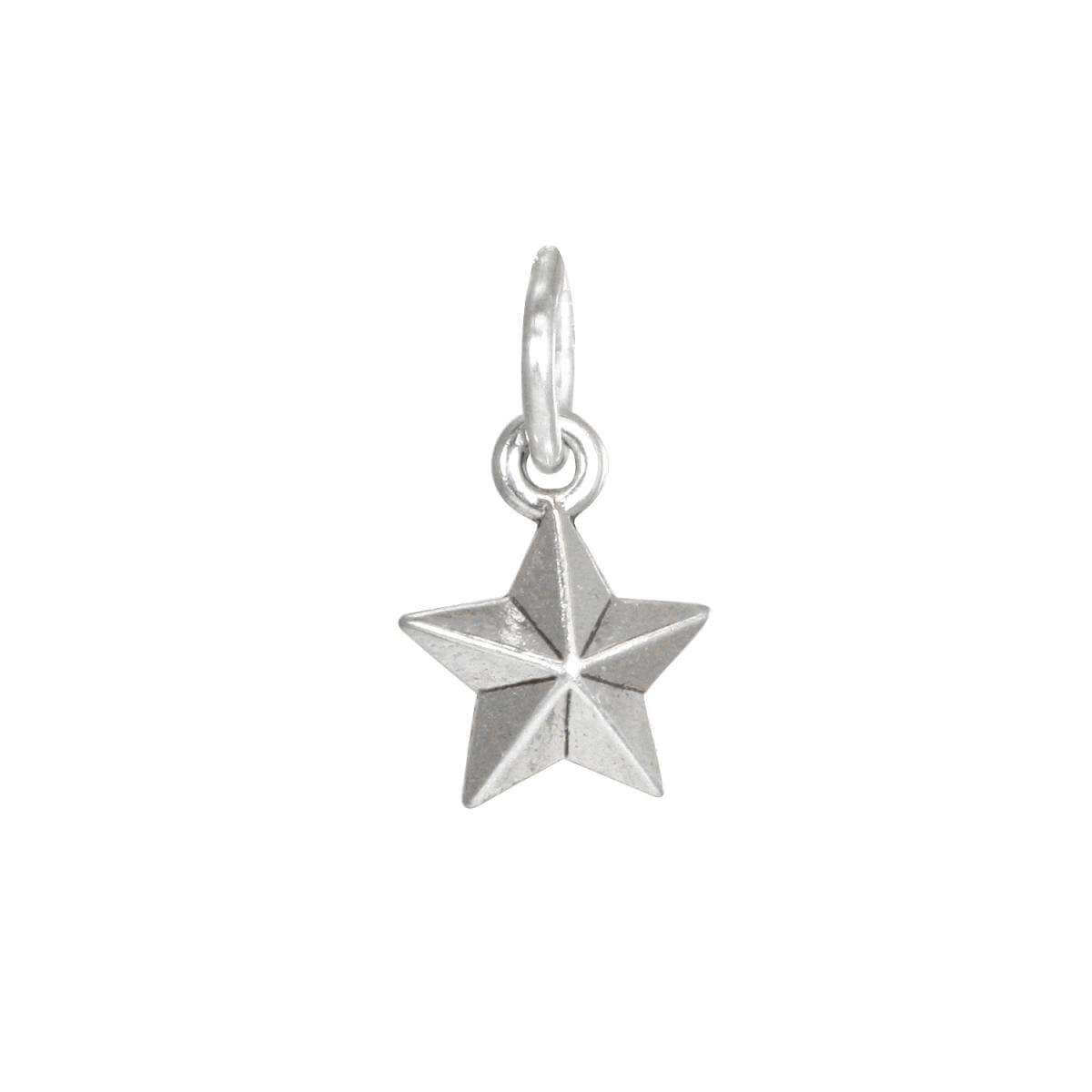 Sterling Silver Small Northern Star Charm