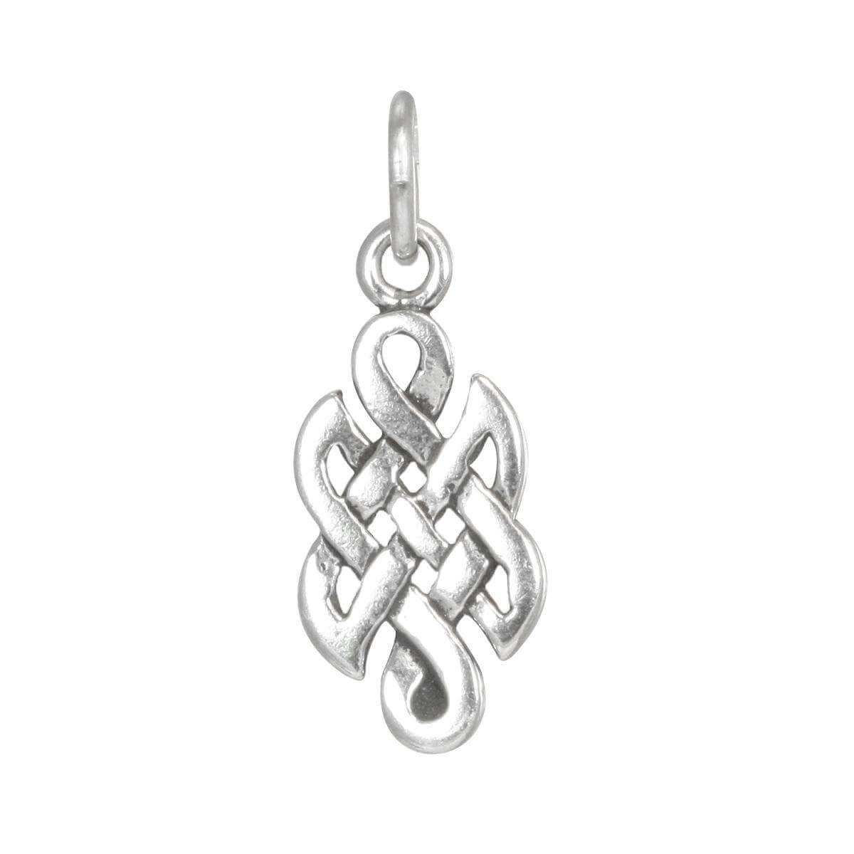 Sterling Silver Small Celtic Knot Charm